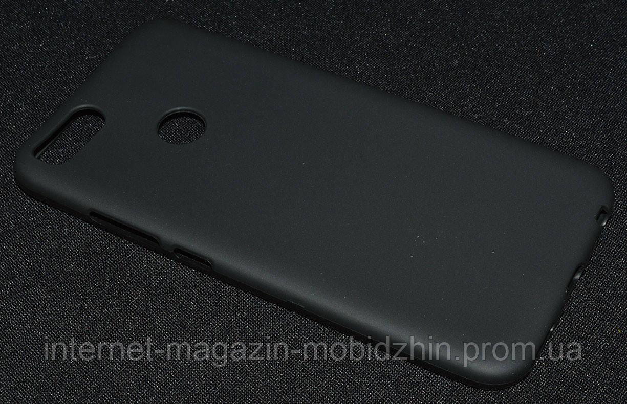 Чехол силиконовый Xiaomi A1/Mi5x, черный