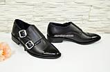 Женские черные туфли, натуральная кожа и лак., фото 2