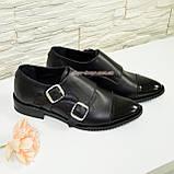 Женские черные туфли, натуральная кожа и лак., фото 5