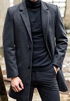 Мужское пальто. Модель 61772, фото 2