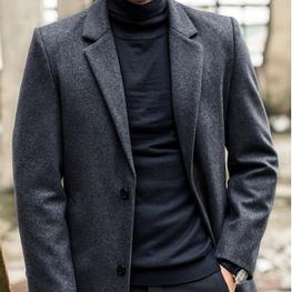 Мужское пальто. Модель 61772