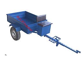 Прицеп для мотоблока (1,05 х 1,35м) под жигулевские ступицы (без покрышек и колес)