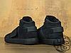Женские кроссовки реплика Adidas Originals Tubular Invader Strap Triple Black BB1169, фото 4