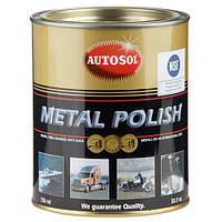 Высокоэффективный полироль Autosol Metal Polish для всех типов металлов банка 750 мл.