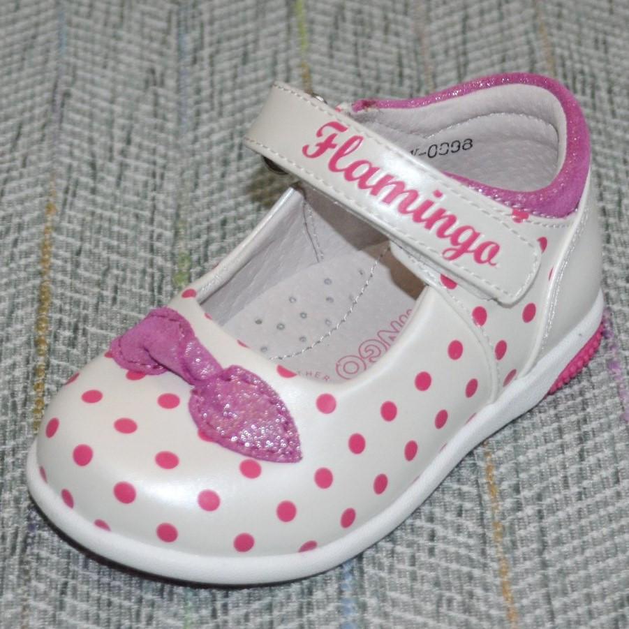 Чепурненькі черевички в горошок, Flamingo розмір 21 22 24