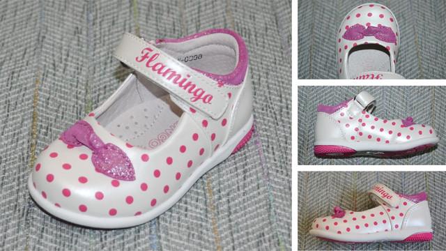 Flamingo туфельки в горошок фото