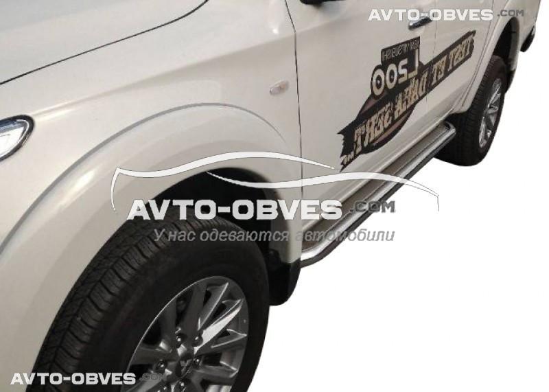 Підніжки для Fiat Fullback 2016-..., Ø 42 \ 51 \ 60 мм