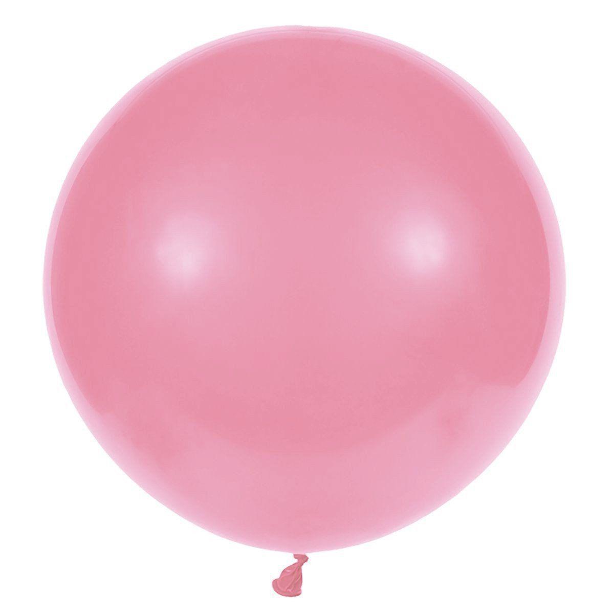 Повітряні кулі латексні G220_57 Gemar Італія, колір: пастель світло-рожевий, Діаметр 31 дюйм/80 см, 25 шт