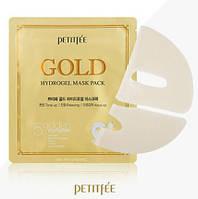 Маска гидрогелевая, лифтинговая с золотом PETITFEE Gold Hydrogel Mask , фото 1