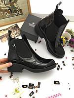 Демисезонные женские ботинки натуральная кожа.