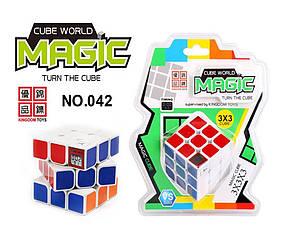 Кубик Рубика с таймером, на блистере /120-2/