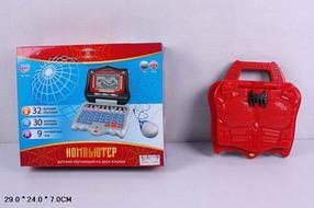 Компьютер JOY TOY 7074 32упр.англо-рус.Spiderman с мышкой кор.29*7*24 ш.к./24/