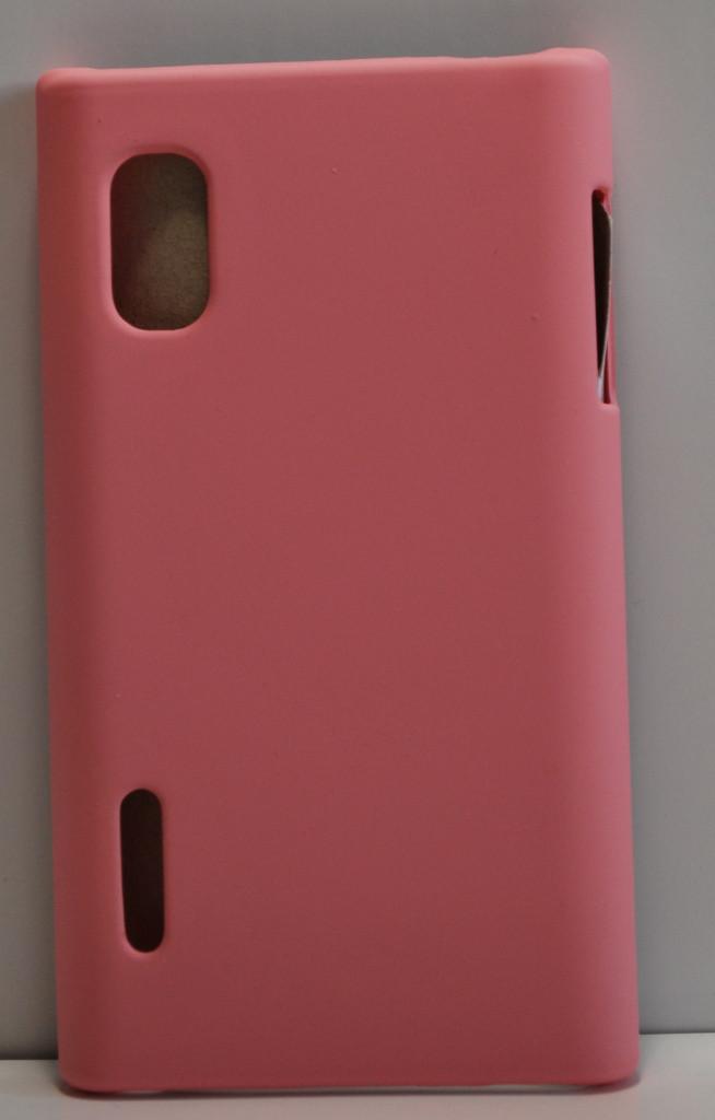 Пластиковый чехол LG Optimus L5, L702