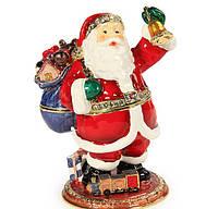 "Шкатулка ""Дед мороз"" 6х5х9 см."