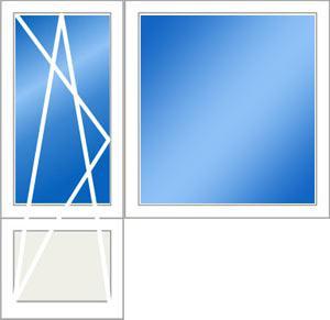Дверь и окно-Эконом