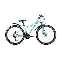 """Женский велосипед Avanti Calypso 26"""" бело-бирюзовый"""