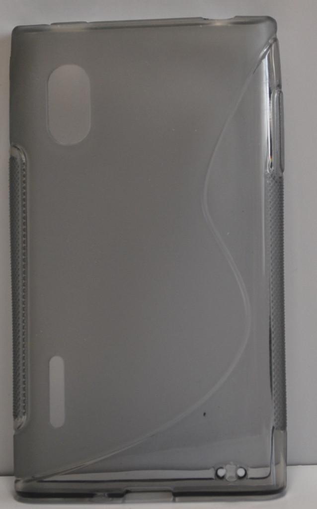 Силиконовый. чехол LG Optimus L5, L701