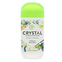 Crystal Body Deodorant, Invisible Solid Deodorant, Vanilla Jasmine, 2.5 oz (70 g)