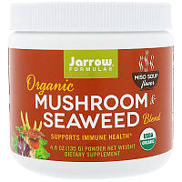 Jarrow Formulas, Organic Mushroom & Seaweed Blend, Miso Soup Flavor, 4.8 oz (135 g)