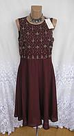 Новое вечернее платье с декором ANNA FIELD полиэстер M 48 - 50 С166N