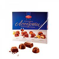 Конфеты АВК Шоколадное Ассорти молочный шоколад 200г (8)