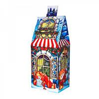 Новогодний Подарок Шоколадный домик 300г (10)