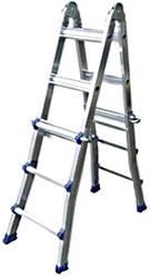 Телескопическая шарнирная лестница WERK LM4412DR (4x3)