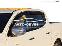 """Ветровики на окна Fiat Fullback (2016 - ...) """"SIM"""""""