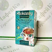 Чай Alokazay Травяной с ромашкой в конверте 25*2г (24)