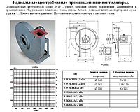 Центробежные промышленные вентиляторы 9-19