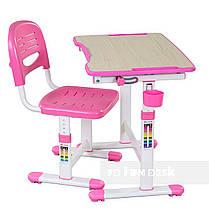 Растущая парта для девочки FunDesk Piccolino II Pink, фото 2