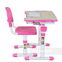 Растущая парта для девочки FunDesk Piccolino II Pink, фото 3