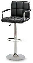 Барный стул Astana, барное кресло, стул визажиста, фото 3