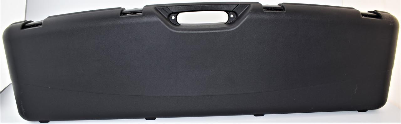 Кейс Mega line 118x30x11 пластиковый, черный, клипсы