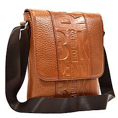 Чоловіча шкіряна сумка через плече Desisan