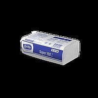 Полотенце бумажное белое 2 слоя целлюлоза ZZ сложение 150 шт/уп 210х240 мм Grite Super Z