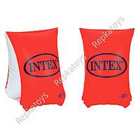 Нарукавник INTEX 6-12 лет, размер 30-15 см, в коробке  (ОПТОМ) 58641