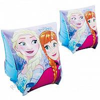 """Нарукавник INTEX """"Frozen"""" 3-6 лет, размер 23-15 см, в коробке (ОПТОМ) 56640"""