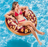 """Круг INTEX """"Шоколадный Пончик"""", 114  см, в коробке (ОПТОМ) 56262"""