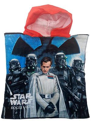 Пончо- полотенце для мальчика STAR WARS