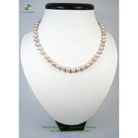 Ожерелье из кремовых жемчужин