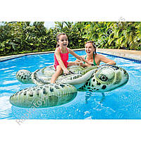 "Плотик ""Черепаха"" INTEX, размер 191-170 см, в коробке (ОПТОМ) 57555"