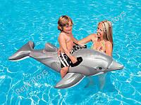 """Плотик """"Дельфин"""" INTEX, размер 175-66 см, в коробке (ОПТОМ) 58535"""