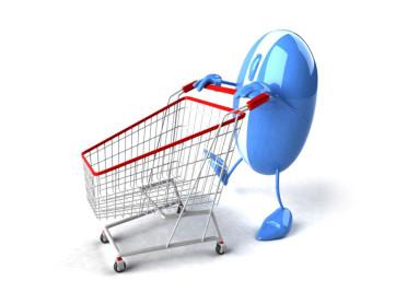 Оформление покупки через корзину на сайте