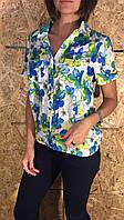 Блуза жіноча Квіти