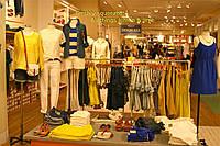 Торговое оборудование для магазинов одежды из хромированной трубы, Киев, Академгородок, фото 1