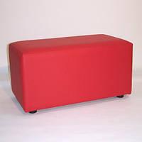 Банкетка (пуфик) BN-002( красный)
