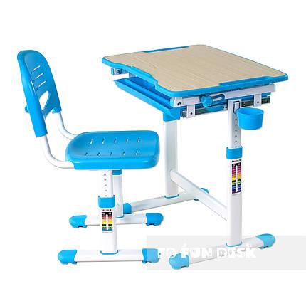 Детская парта со стульчиком FunDesk Piccolino Blue, фото 2