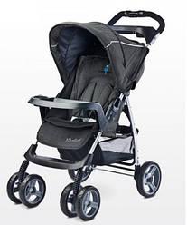 Детская прогулочная коляска Caretero Monaco - black
