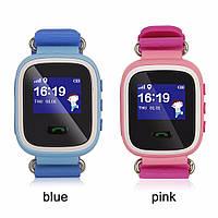 Детские умные GPS часы с трекером отслеживания Smart Baby Watch Q 60  с цветным экраном